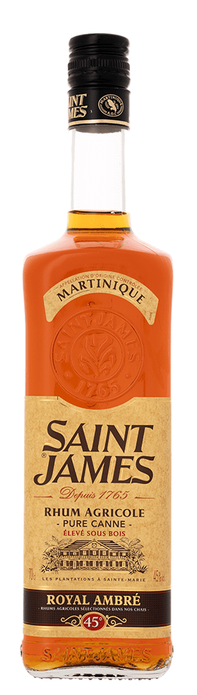 Rhum Ambré de Martinique Saint-James