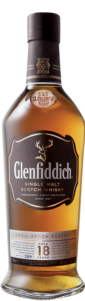 Whisky Glenfiddich Single Malt 18 ans en Coffret
