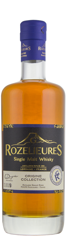 Whisky Rozelieures Origine Collection Single Malt